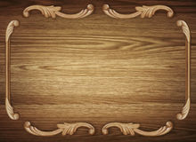 Wood background with pattern Stock Photography