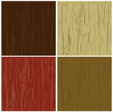 Wood background pattern set Royalty Free Stock Image