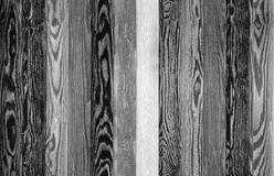 Wood Background planks. seamless gray texture floor. Black and white Stock Images