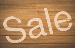 Wood Background and sale Texture vintage Royalty Free Stock Photo