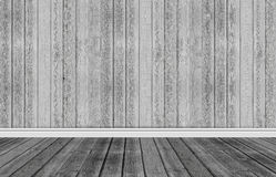 Wood background with skirting floor Royalty Free Stock Photo
