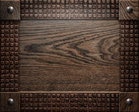 Wood background texture (antique furniture) Stock Images