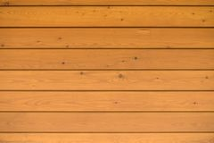 Wood background, texture. Close-up brown horizontal wood wall background, texture with copy space for text, flat lay, top view Royalty Free Stock Image