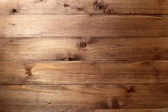 Texture of a wooden plank lying along royalty free stock photography