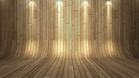 Wood background. Wood texture background with under spot light Royalty Free Stock Images