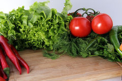 Wood background and vegetables. Vegetables Food Concept and Decoration royalty free stock image