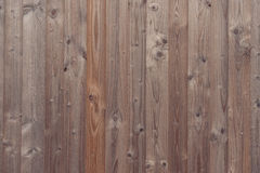 Wood background with vertical planks Royalty Free Stock Image