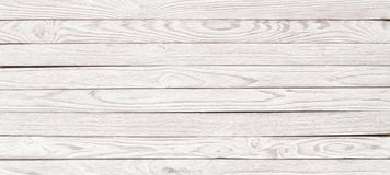 White wood texture for the layout, Panorama wooden table for bac stock image