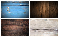 Wood backgrounds. Boards, old wood Royalty Free Stock Images