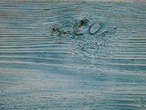 Wood bakgrund för turkos - målade träplankor för skrivbord bordlägger väggen eller golvet royaltyfri bild