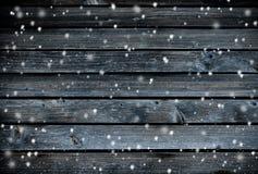 wood bakgrundssnowflakes Arkivfoton