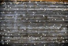 wood bakgrundssnowflakes Fotografering för Bildbyråer