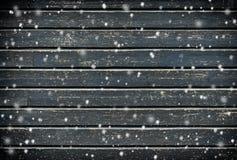 wood bakgrundssnowflakes Arkivbild