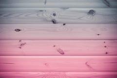 Wood bakgrundstextur av plankor med det kulöra filtret Fotografering för Bildbyråer