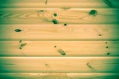 Wood bakgrundstextur av plankor med tappningfiltret Arkivfoton