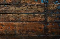 Wood bakgrundstextur för gammal mörk tappning Arkivbilder