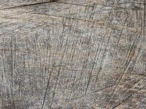 Wood bakgrundstextur Wood vägg som täckas i linjen skrapor Arkivbild