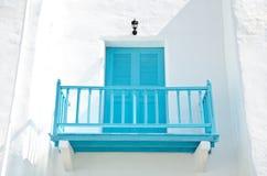 Wood balcony Stock Image