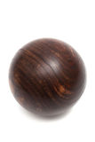 Wood ball croquet Stock Photos