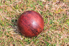Wood ball sport Royalty Free Stock Image