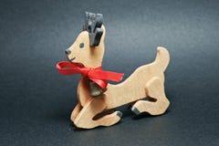 Wood Bambi Arkivbild