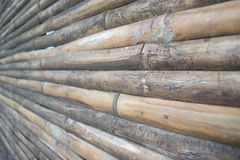 Wood Bamboo Background. Wood background shooting in Thailand Royalty Free Stock Photo