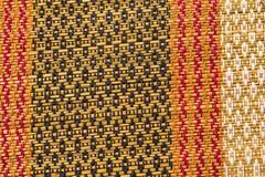 Wood bambu Mat Texture Background Arkivbild