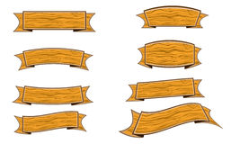 Wood banner Stock Photo