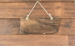 Wood banner Royalty Free Stock Images