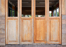 Wood barn door Stock Photography