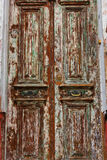 Wood Barn Door Stock Image