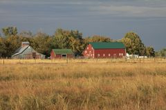 Barns of the Miwest Stock Photos