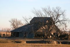 Barns of the Miwest Stock Photography