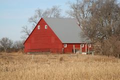 Barns of the Miwest Royalty Free Stock Photo