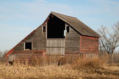 Barns of the Miwest Royalty Free Stock Images