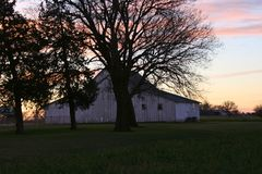 Barns of the Miwest Stock Image