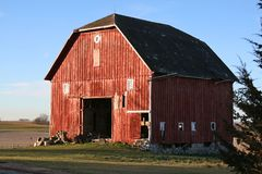 Barns of the Miwest Stock Photo