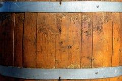 Wood barrel. Close-up of a wood barrel Stock Images