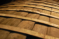 Wood barrel Stock Photography