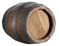 Wood barrel Royalty Free Stock Photography