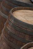 Wood Barrel Royalty Free Stock Photo