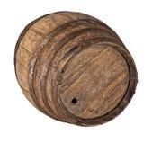 Wood barrel Stock Photo