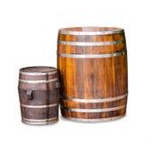 Wood barrel Royalty Free Stock Photo