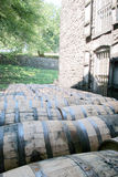 Wood Barrel Stock Photography