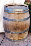 Wood barrel Stock Images