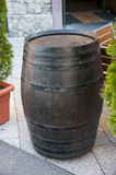 Wood barrel Royalty Free Stock Photos