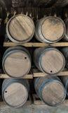 Wood Barrels Royalty Free Stock Photography