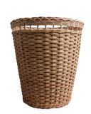 Wood basket Stock Photography