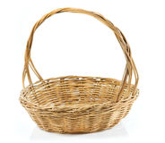 Wood Basket royalty free stock images