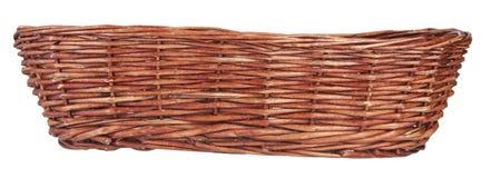 Wood basket Stock Photo
